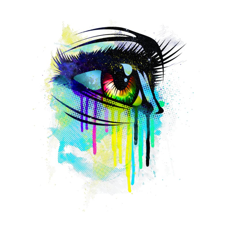 Tears of Colors by moncheng's Artist Shop