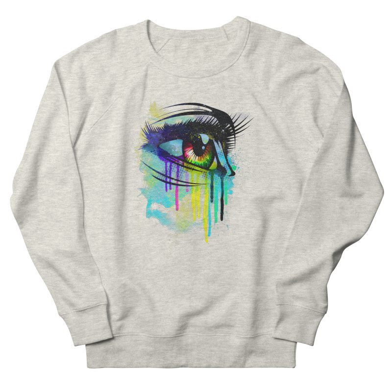 Tears of Colors Women's Sweatshirt by moncheng's Artist Shop