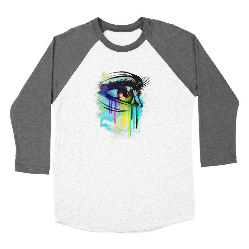 Tears of Colors Women's Longsleeve T-Shirt by moncheng's Artist Shop