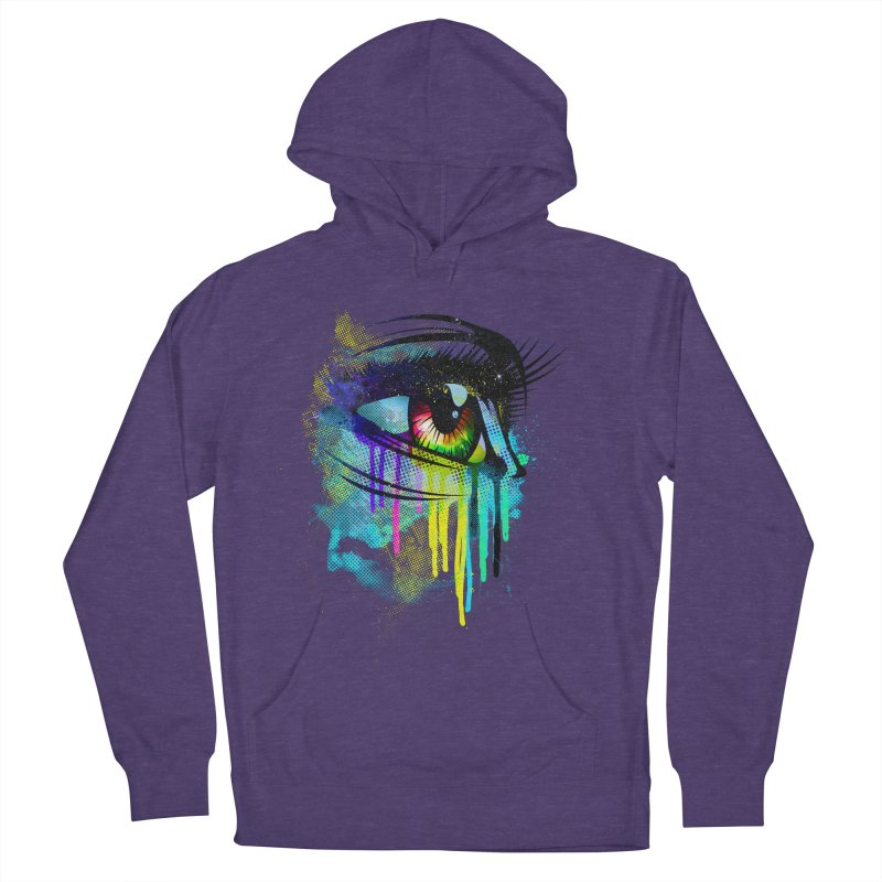Tears of Colors Men's French Terry Pullover Hoody by moncheng's Artist Shop