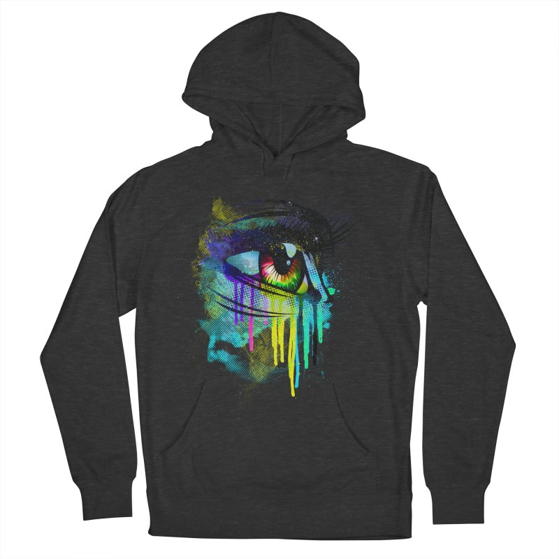 Tears of Colors Men's Pullover Hoody by moncheng's Artist Shop