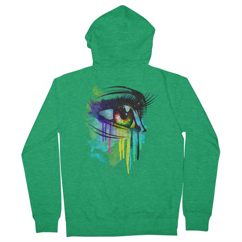 Tears of Colors Women's Zip-Up Hoody by moncheng's Artist Shop