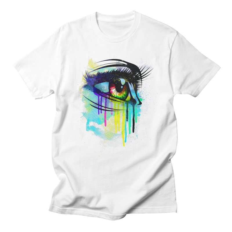 Tears of Colors Men's T-Shirt by moncheng's Artist Shop