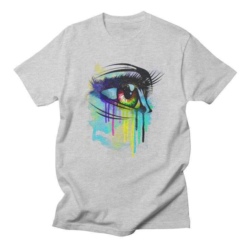 Tears of Colors Men's T-Shirt by moncheng's Artist Shop