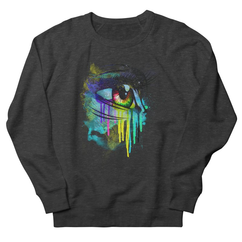 Tears of Colors Women's French Terry Sweatshirt by moncheng's Artist Shop