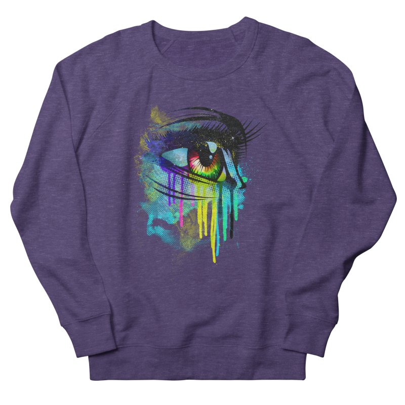 Tears of Colors Women's Sweatshirt by moncheng's Artist Shop