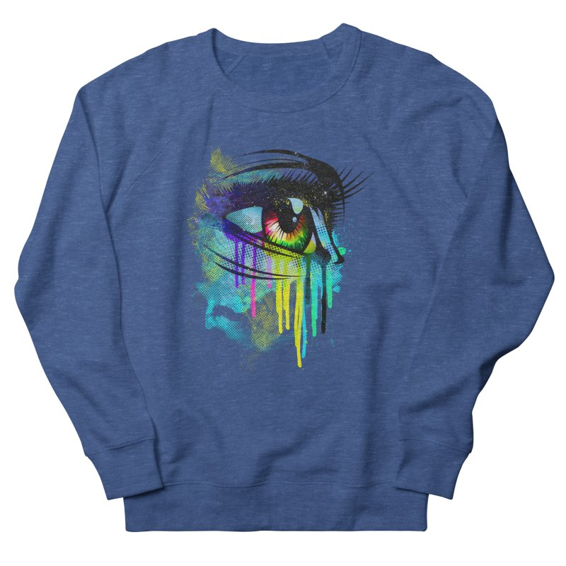 Tears of Colors Men's Sweatshirt by moncheng's Artist Shop