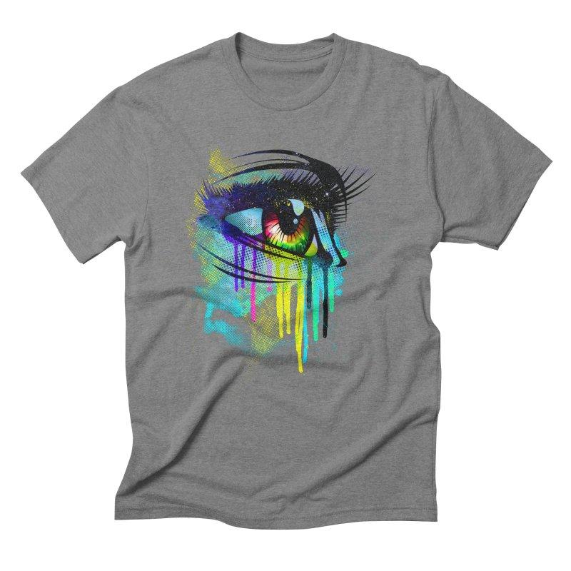 Tears of Colors Men's Triblend T-Shirt by moncheng's Artist Shop