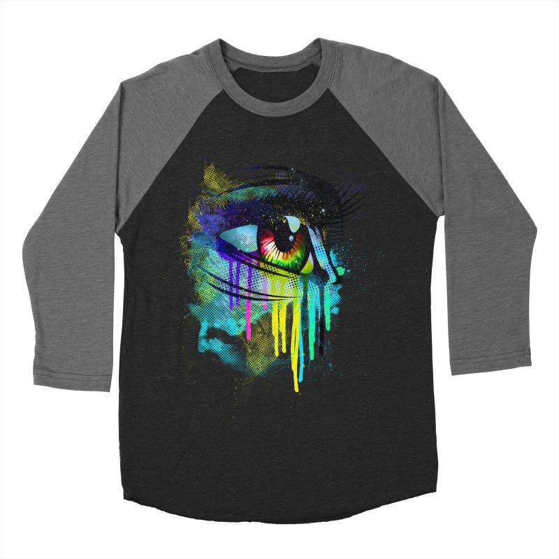 Tears of Colors Men's Baseball Triblend T-Shirt by moncheng's Artist Shop