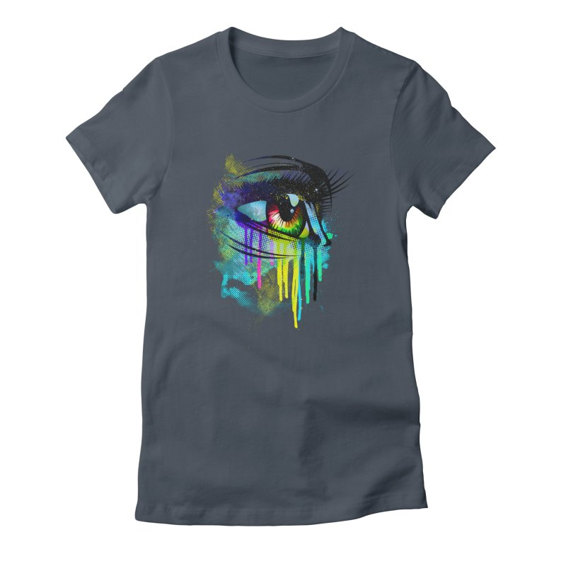 Tears of Colors Women's T-Shirt by moncheng's Artist Shop
