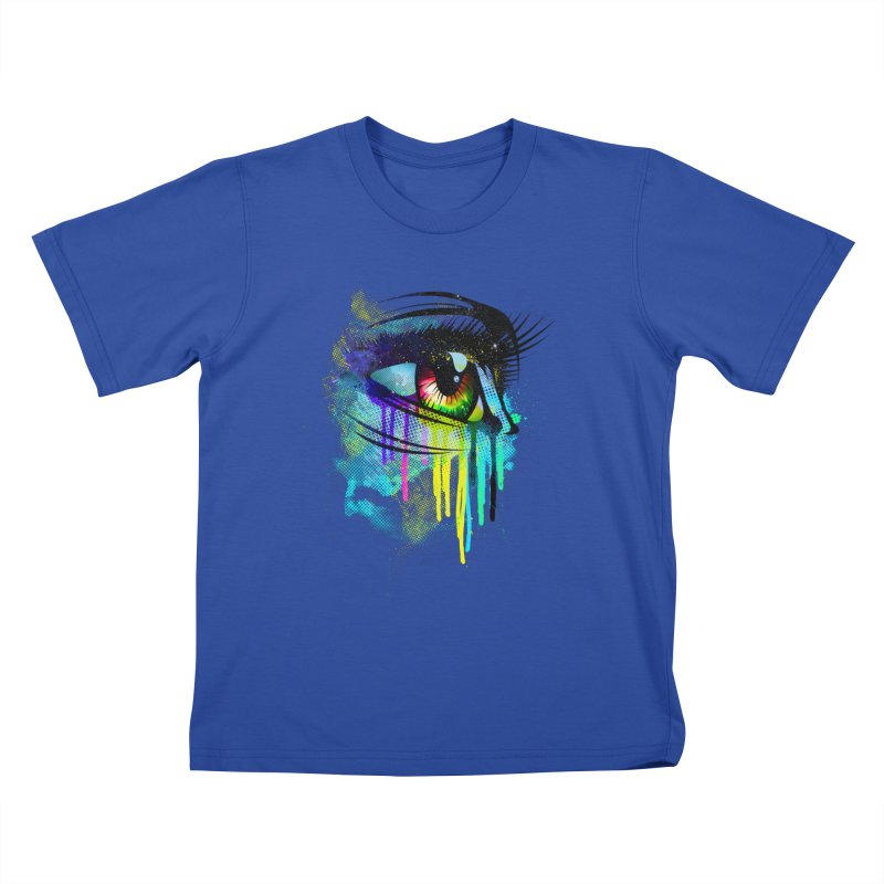 Tears of Colors Kids T-shirt by moncheng's Artist Shop