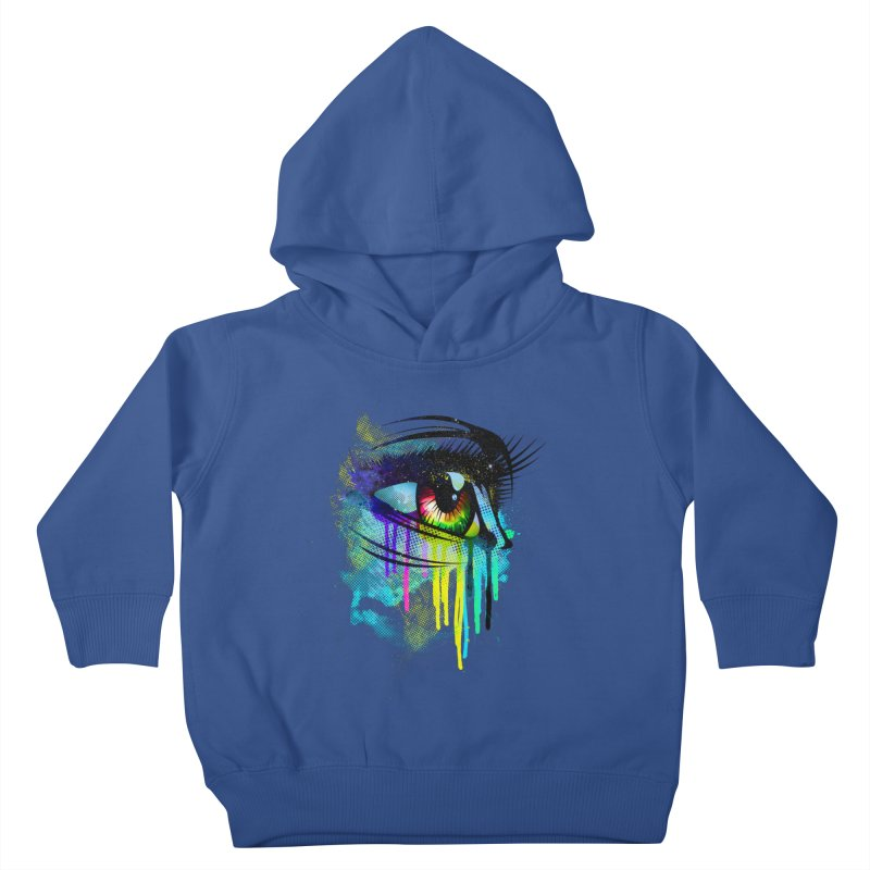 Tears of Colors Kids Toddler Pullover Hoody by moncheng's Artist Shop