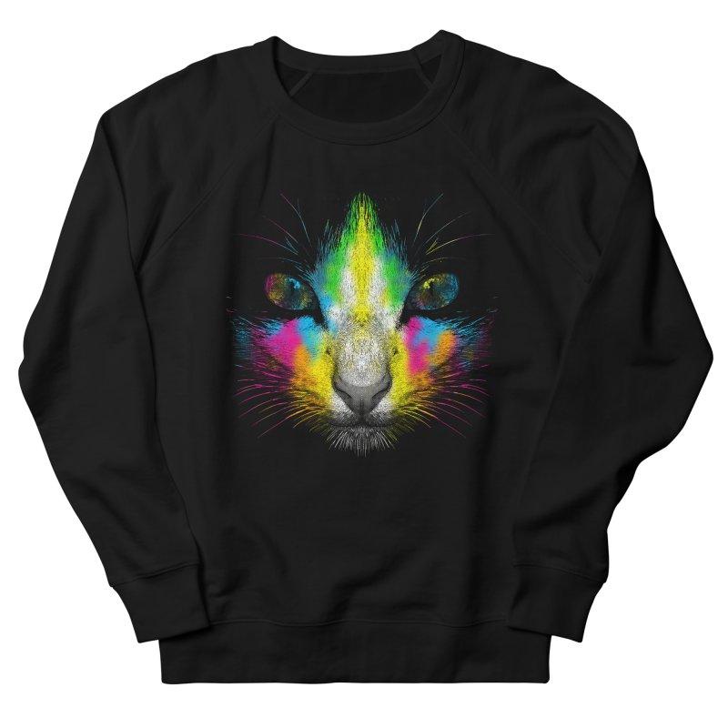 Technicolor Cat Men's Sweatshirt by moncheng's Artist Shop