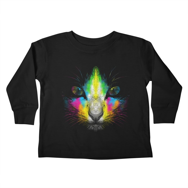 Technicolor Cat   by moncheng's Artist Shop