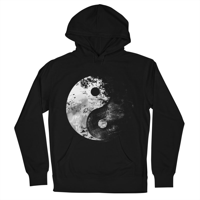Yin Yang Men's French Terry Pullover Hoody by moncheng's Artist Shop