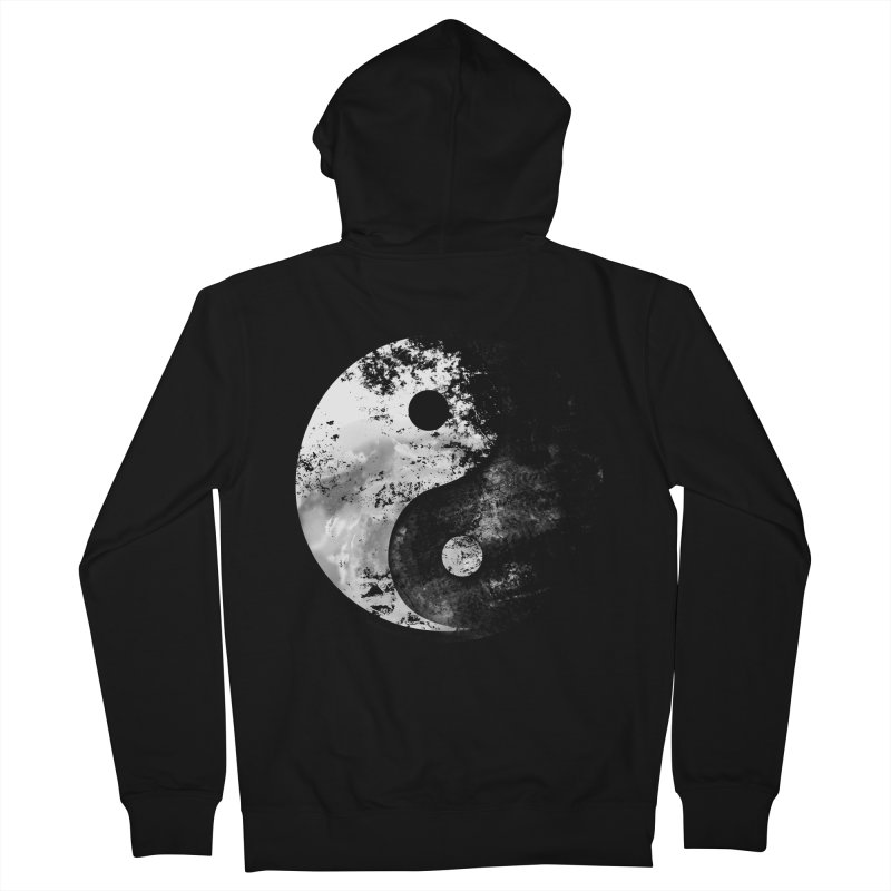 Yin Yang Men's Zip-Up Hoody by moncheng's Artist Shop