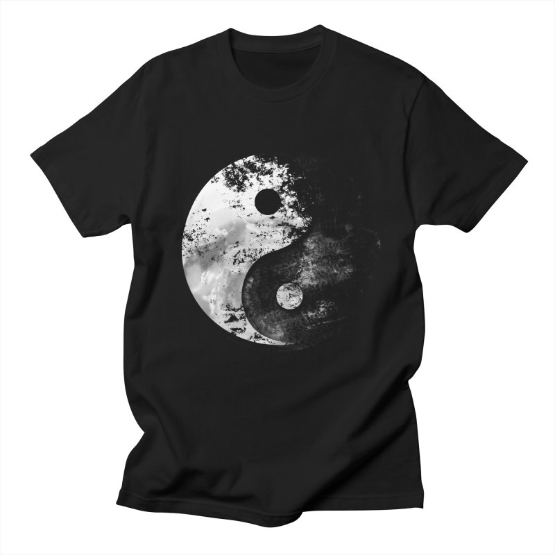 Yin Yang Men's T-Shirt by moncheng's Artist Shop