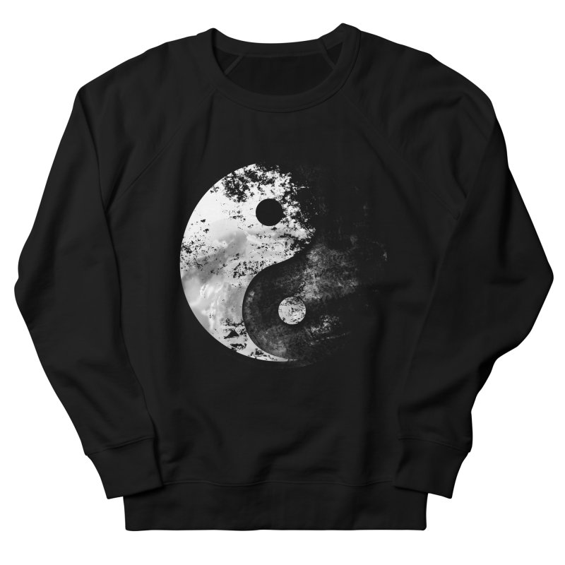 Yin Yang Women's French Terry Sweatshirt by moncheng's Artist Shop