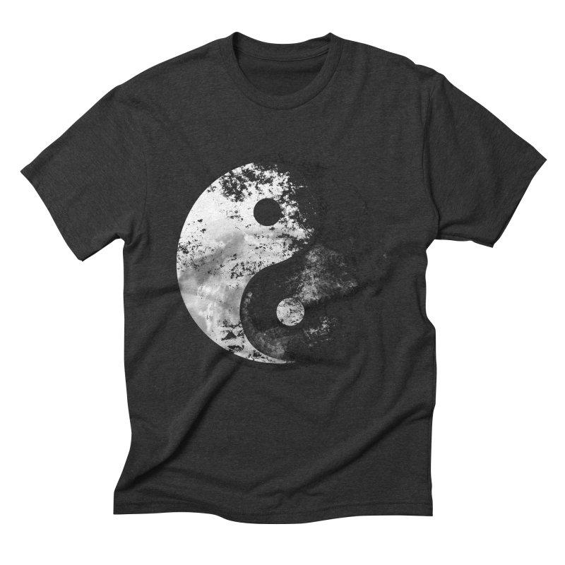 Yin Yang Men's Triblend T-Shirt by moncheng's Artist Shop