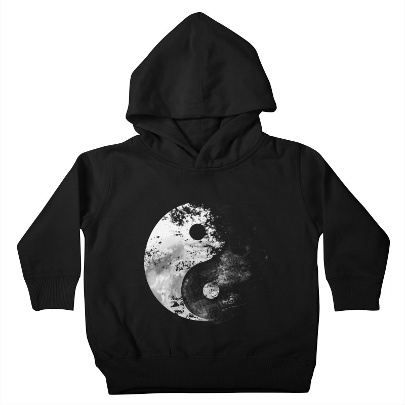 Yin Yang Kids Toddler Pullover Hoody by moncheng's Artist Shop