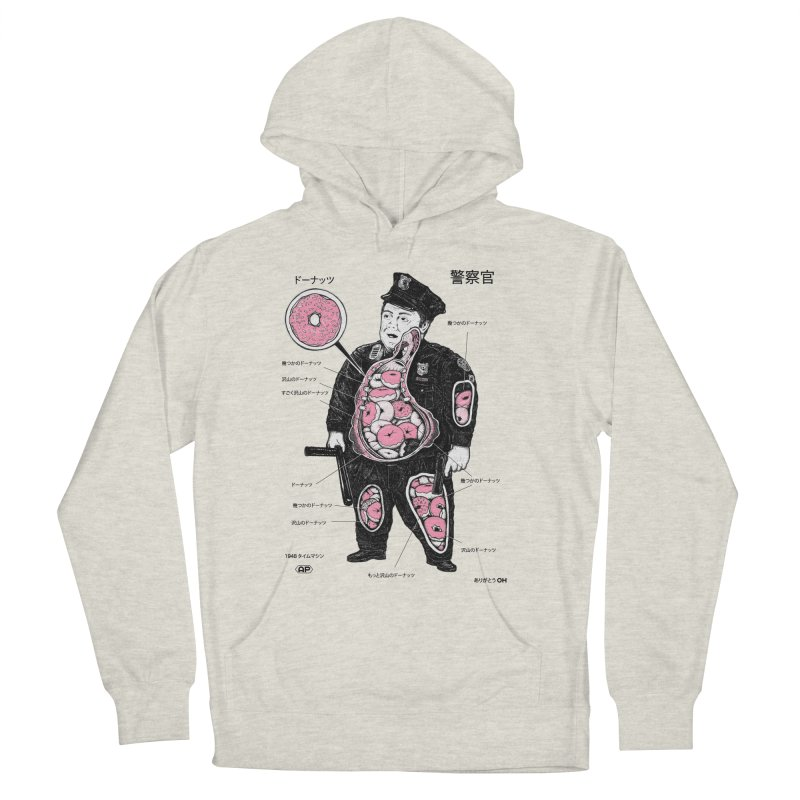 Anatomy Men's Pullover Hoody by Andy Pitts Artist Shop