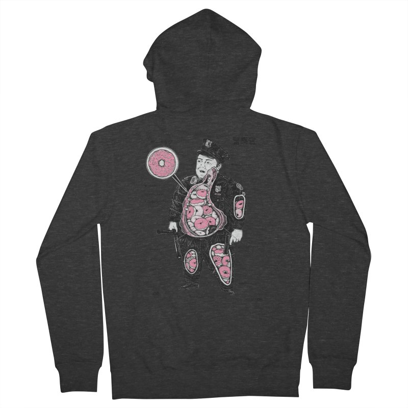 Anatomy Women's Zip-Up Hoody by Andy Pitts Artist Shop