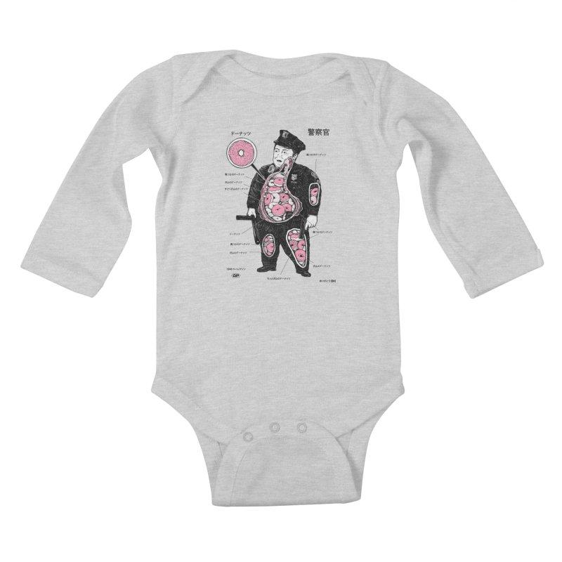 Anatomy Kids Baby Longsleeve Bodysuit by Andy Pitts Artist Shop