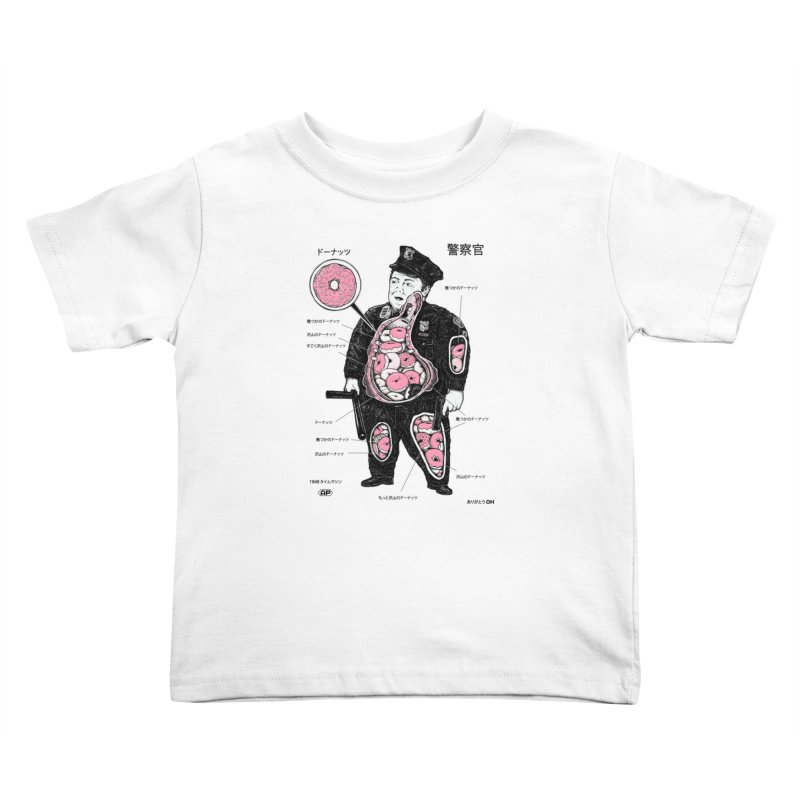 Anatomy Kids Toddler T-Shirt by Andy Pitts Artist Shop