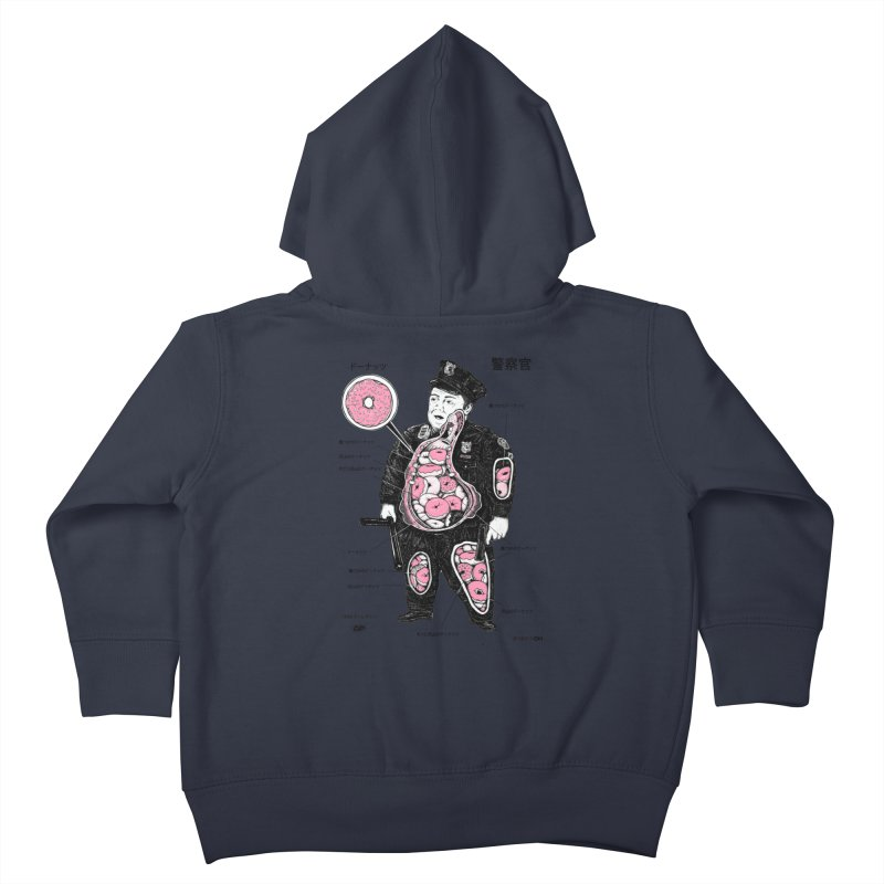 Anatomy Kids Toddler Zip-Up Hoody by Andy Pitts Artist Shop