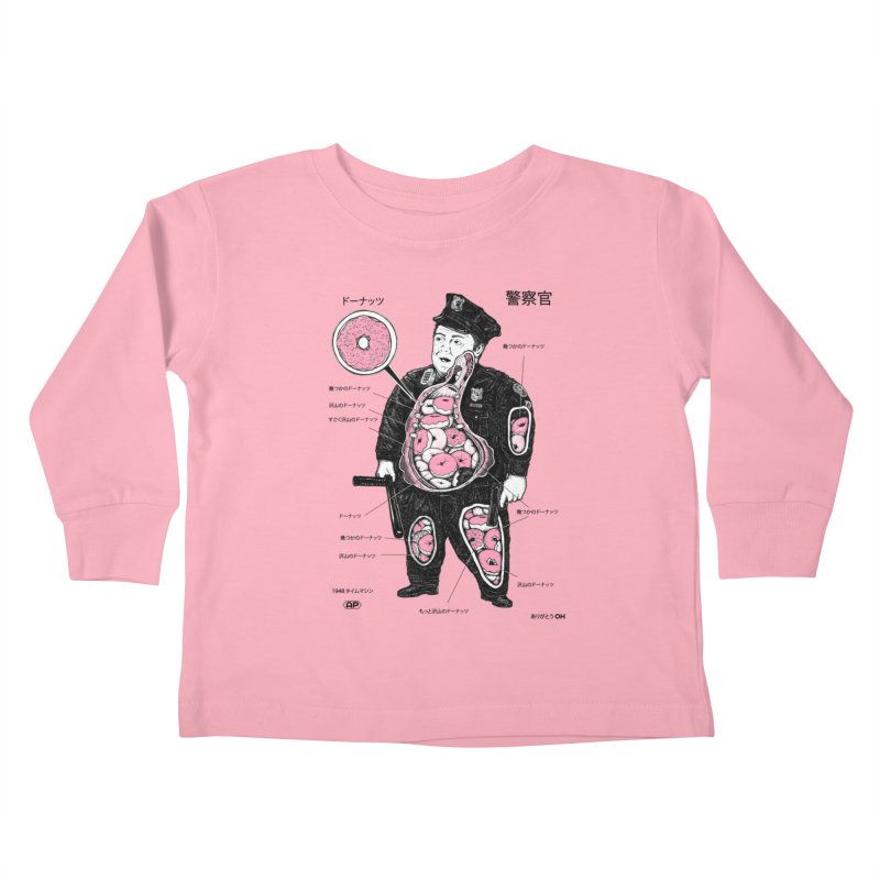 Anatomy Kids Toddler Longsleeve T-Shirt by Andy Pitts Artist Shop