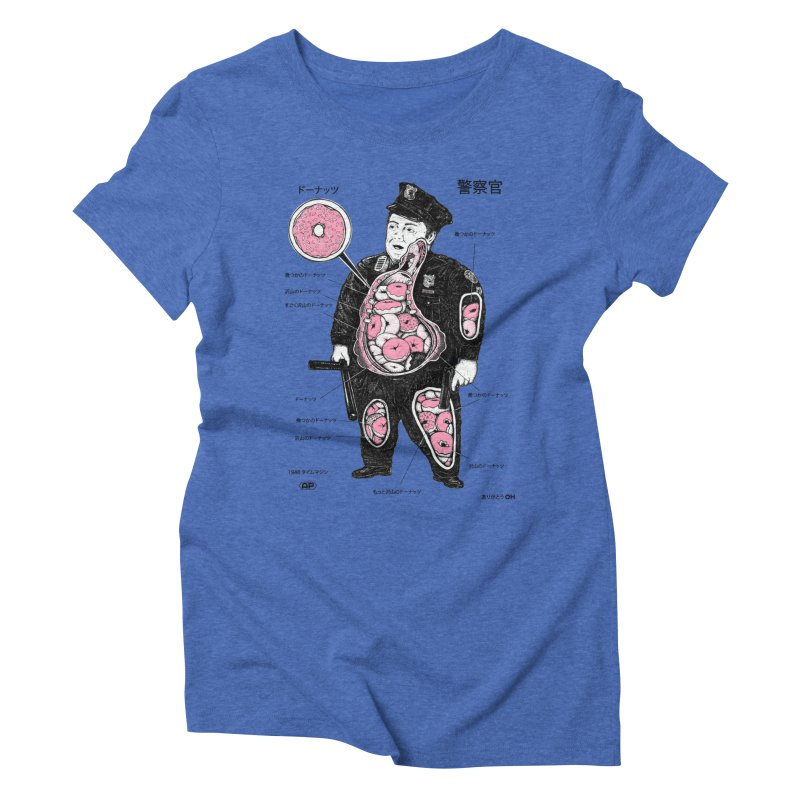 Anatomy Women's Triblend T-shirt by Andy Pitts Artist Shop