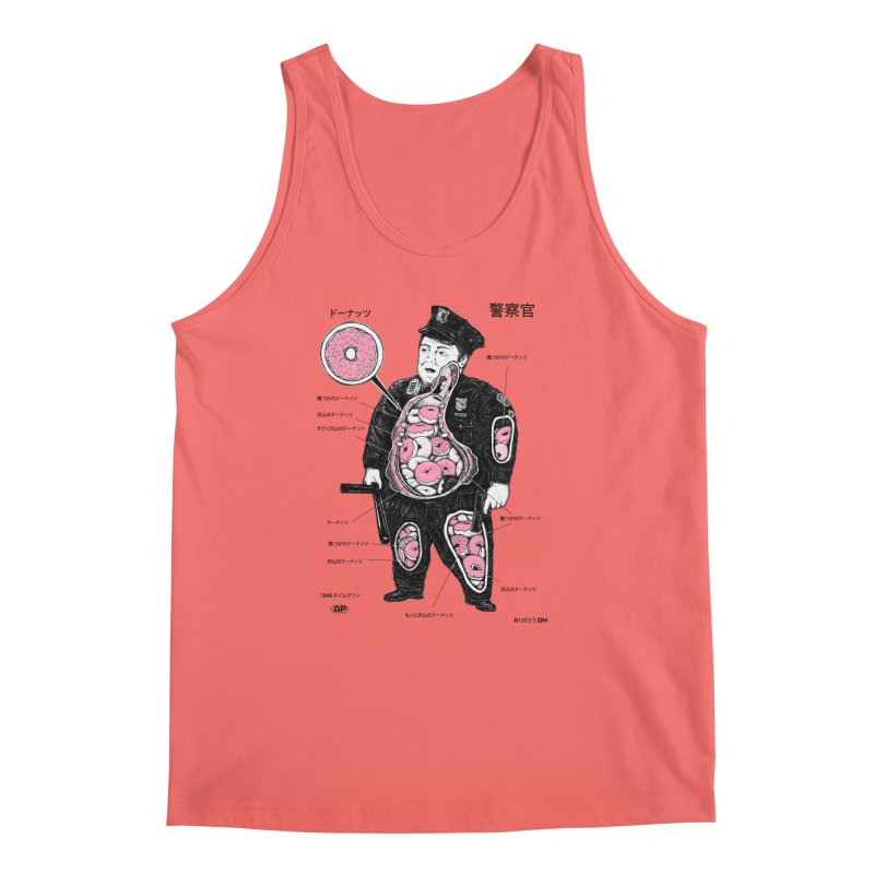Anatomy Men's Tank by Andy Pitts Artist Shop