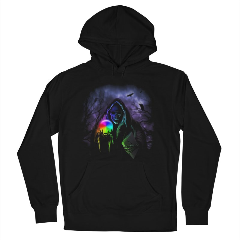 Beachball of Death Women's Pullover Hoody by Andy Pitts Artist Shop