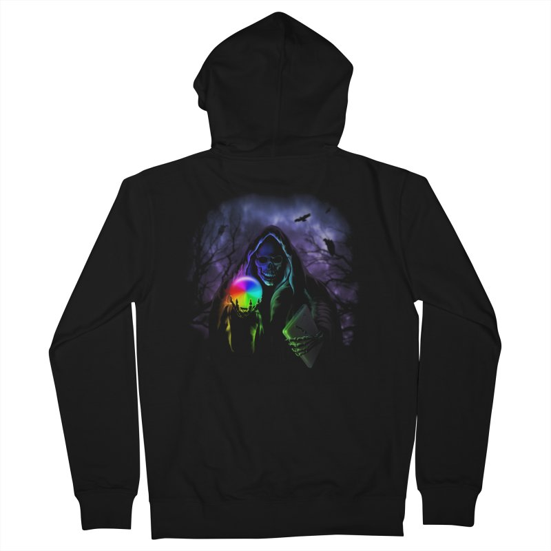 Beachball of Death Men's Zip-Up Hoody by Andy Pitts Artist Shop