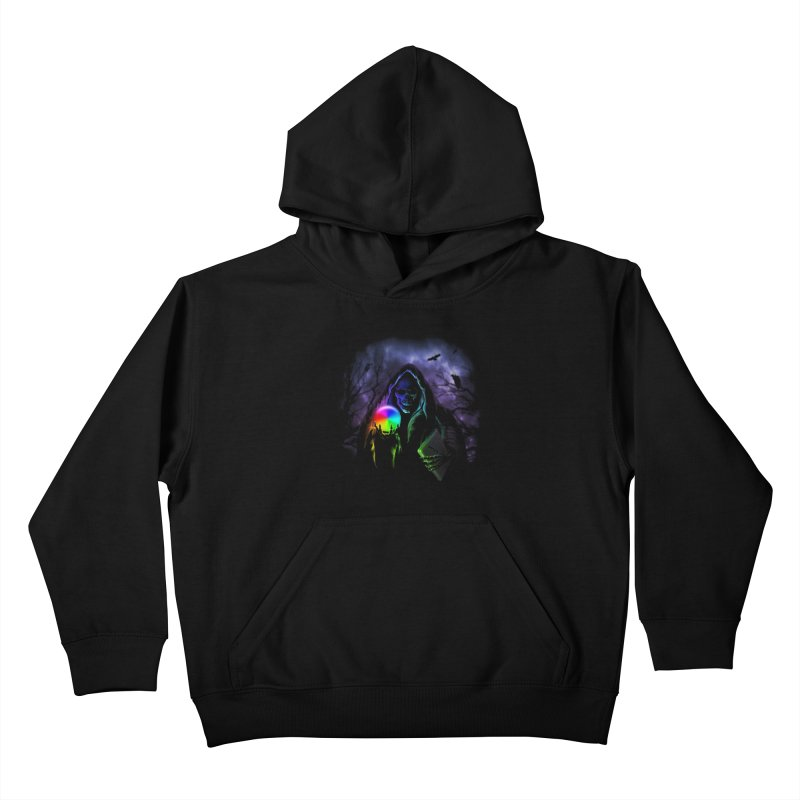 Beachball of Death Kids Pullover Hoody by Andy Pitts Artist Shop