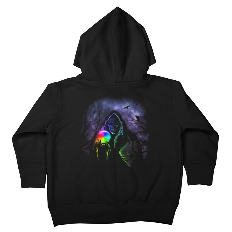 Beachball of Death Kids Toddler Zip-Up Hoody by Andy Pitts Artist Shop