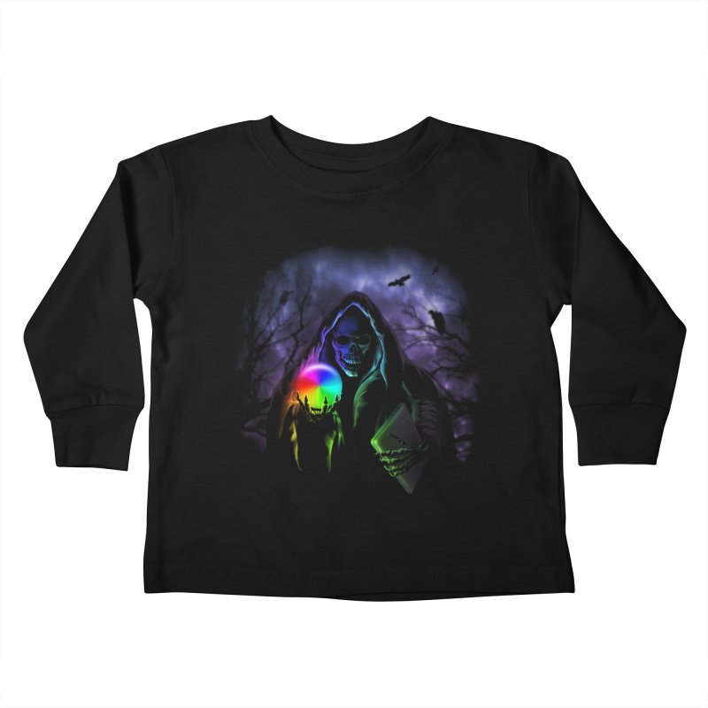 Beachball of Death Kids Toddler Longsleeve T-Shirt by Andy Pitts Artist Shop