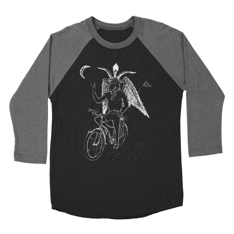 Hell Ride Men's Baseball Triblend T-Shirt by Andy Pitts Artist Shop