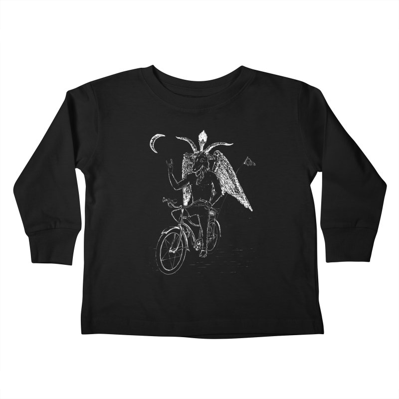 Hell Ride Kids Toddler Longsleeve T-Shirt by Andy Pitts Artist Shop
