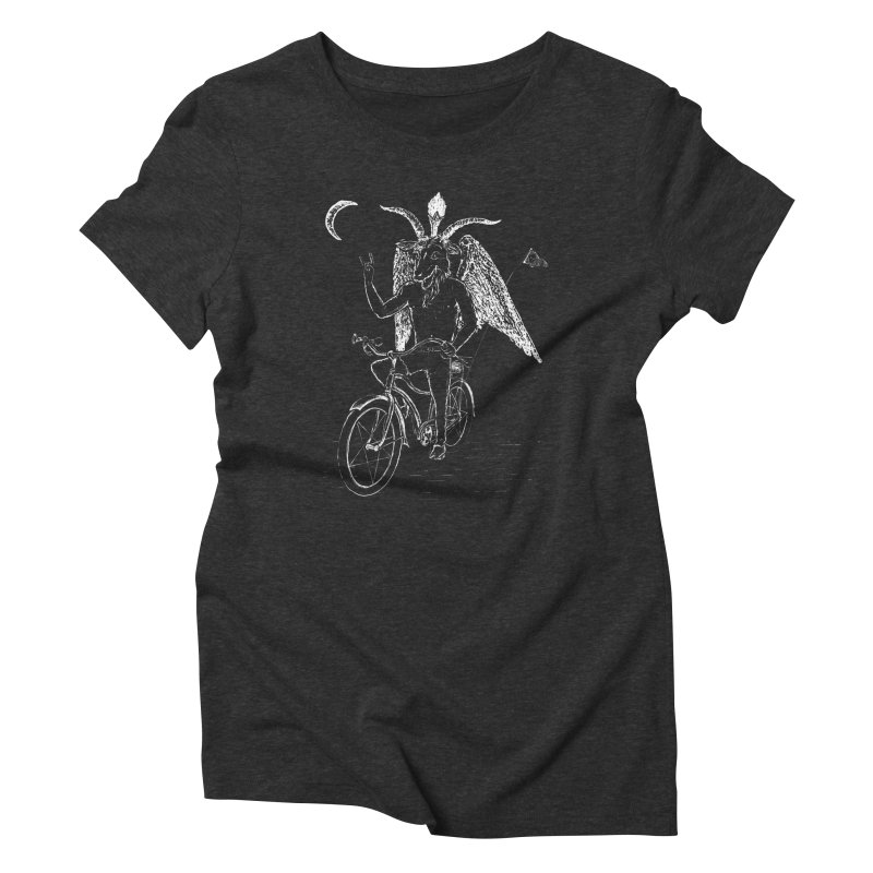 Hell Ride Women's Triblend T-shirt by Andy Pitts Artist Shop