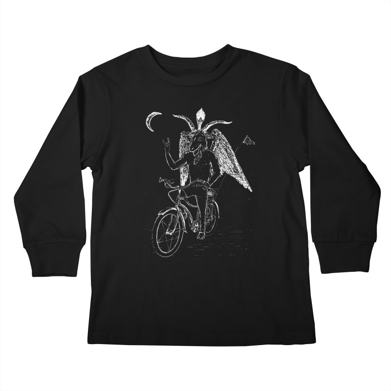 Hell Ride Kids Longsleeve T-Shirt by Andy Pitts Artist Shop