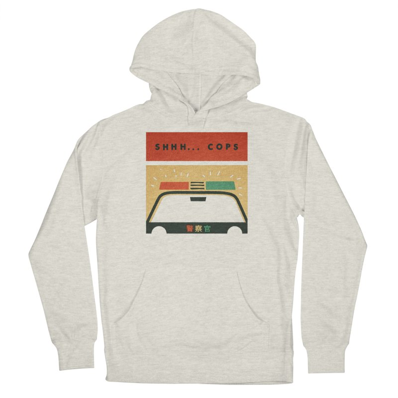 SHHH COPS Men's Pullover Hoody by Andy Pitts Artist Shop