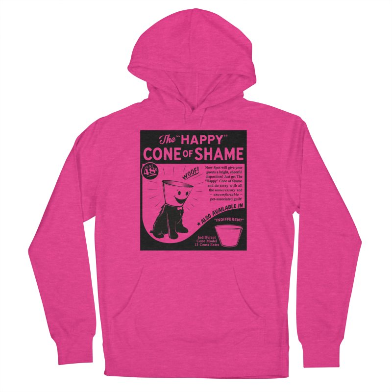 The Happy Cone of Shame Women's Pullover Hoody by Andy Pitts Artist Shop