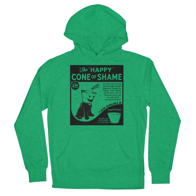The Happy Cone of Shame Men's Pullover Hoody by Andy Pitts Artist Shop