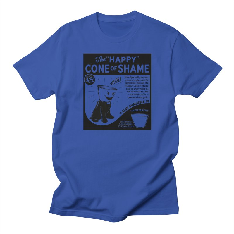The Happy Cone of Shame Men's T-Shirt by Andy Pitts Artist Shop