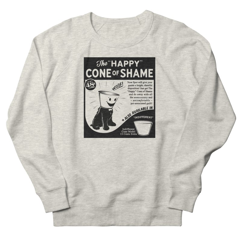 The Happy Cone of Shame Men's Sweatshirt by Andy Pitts Artist Shop