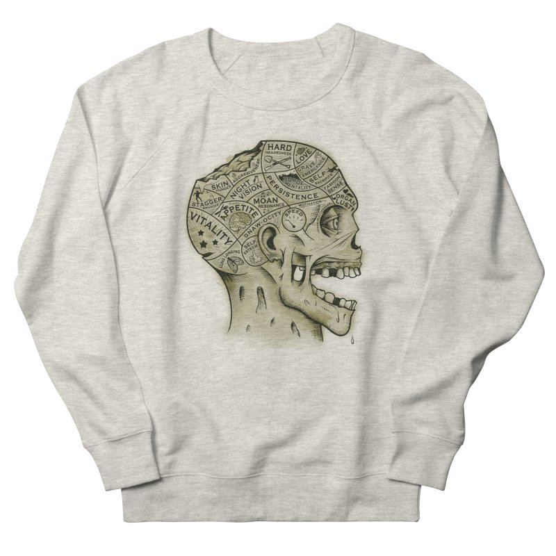 Zombie Phrenology Women's Sweatshirt by Andy Pitts Artist Shop