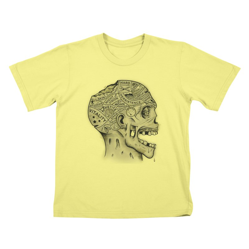 Zombie Phrenology   by Andy Pitts Artist Shop