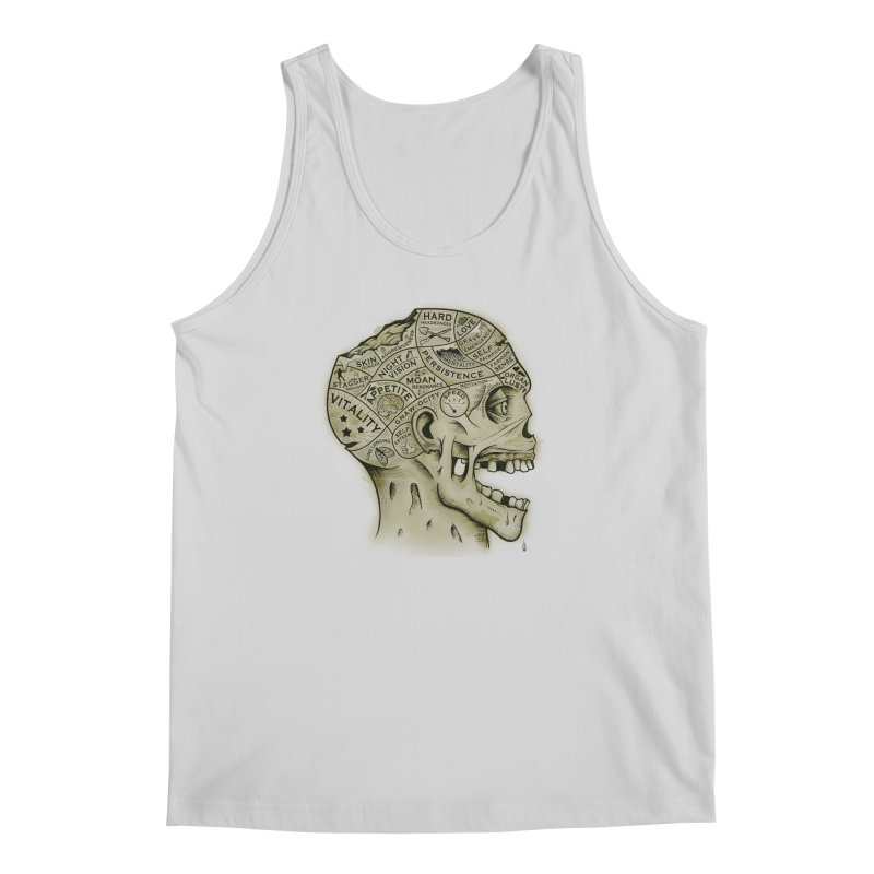 Zombie Phrenology Men's Tank by Andy Pitts Artist Shop