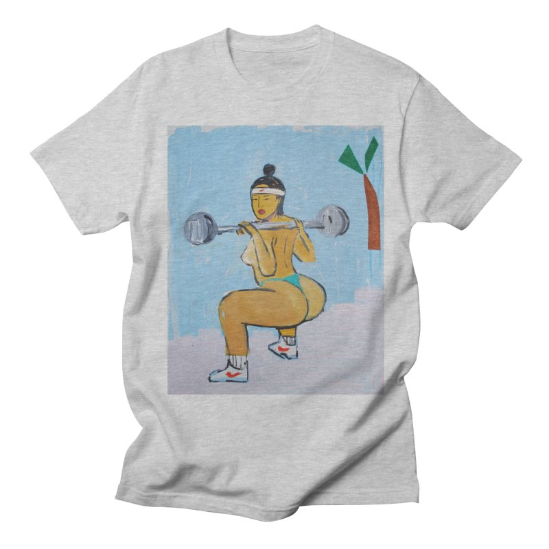 gainz Women's Regular Unisex T-Shirt by monicakimgarza